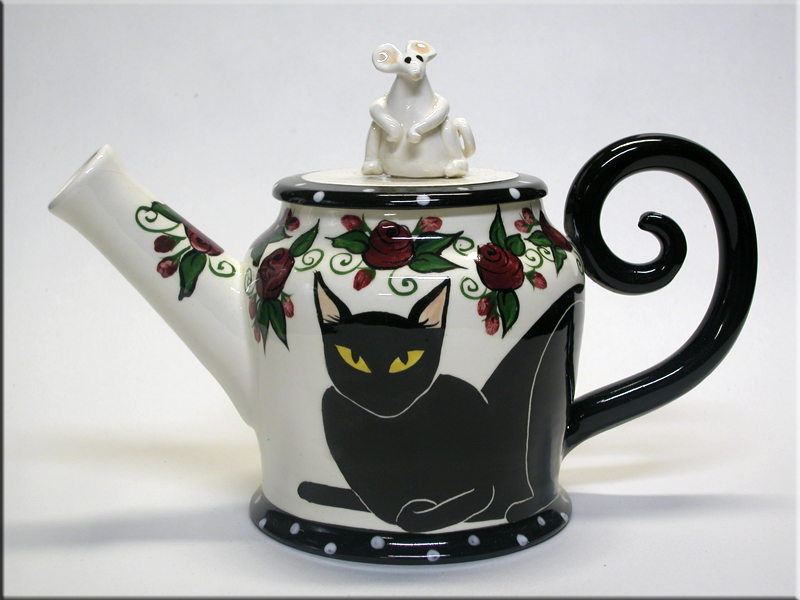 Black Cat Tea Pot Amazon